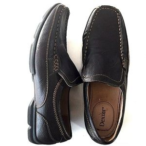 Dexter Comfort Slip On Loafers Shoes-Brown 11